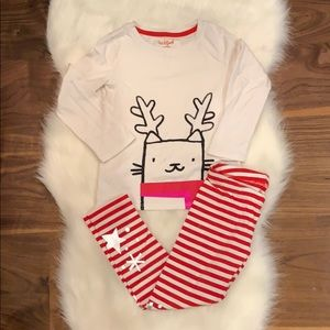 Girls size 4/5 Cat & Jack Christmas set